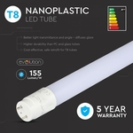 LED T8 HIGH LUMEN buis 18W -  nanoplastic