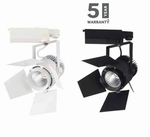 20W LED Euro Track Light COB Wit