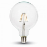RETRO fillament globe bulb 6W G125