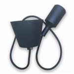 Silicone Armatuur hanglamp Zwart