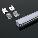 23 mm LED profiel - inbouw / opbouw