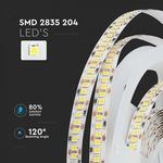 204 leds per meter - LED STRIP WARM WIT :3000K IP20