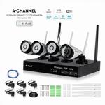 1080P WIRELESS NVR CAMERA SET IP20
