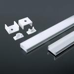 7mm LED profiel - voor de led strip  200 cm