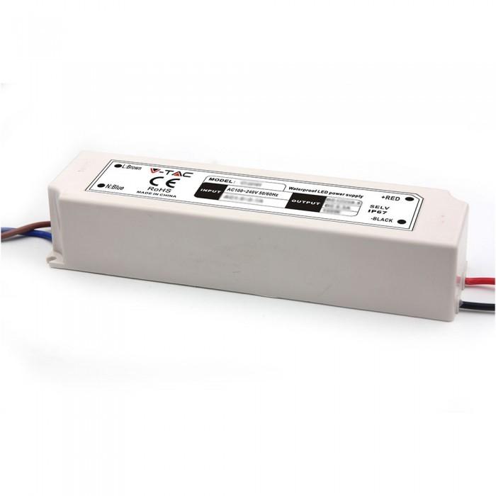 100W LED SLIM VOEDING 12V - IP67 waterdicht