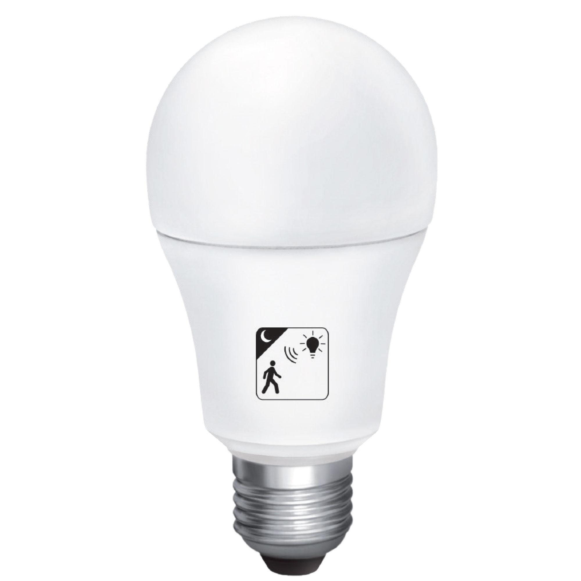 10W LED bulb met beweging nachtsensor