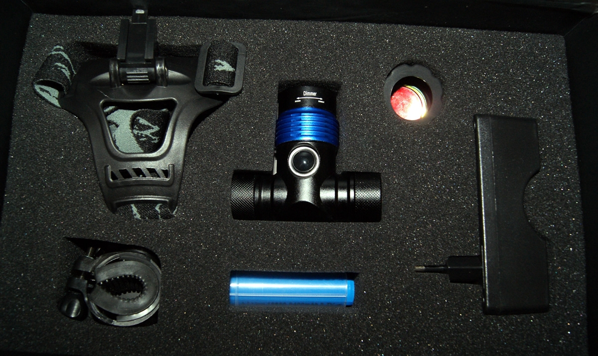 10W LED KORPASS PROBIKE COMBO - Fiets + hoofdlamp