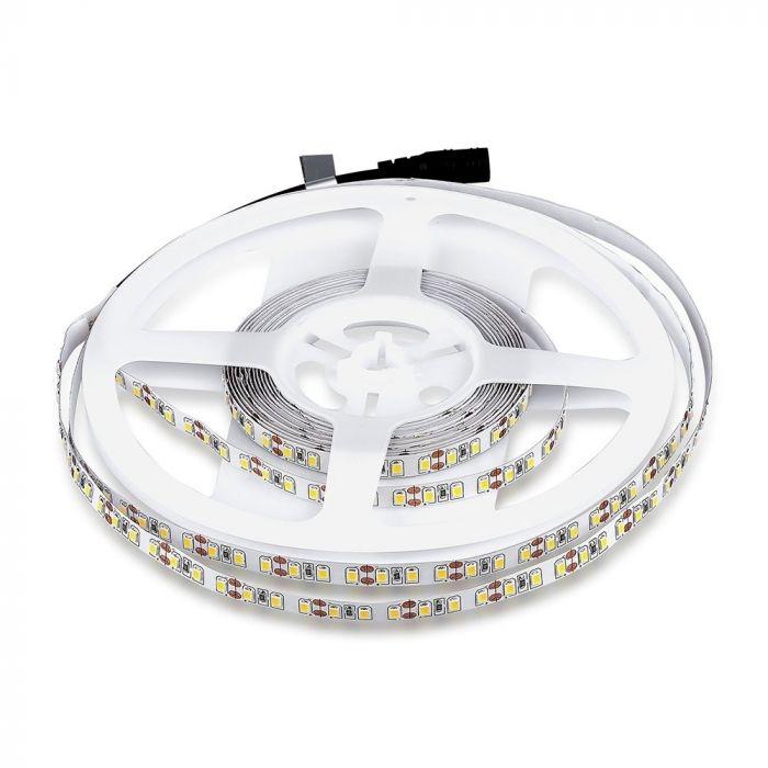 120 SMD 3528 LEDS PER METER 12V - WW IP20 - warm wit