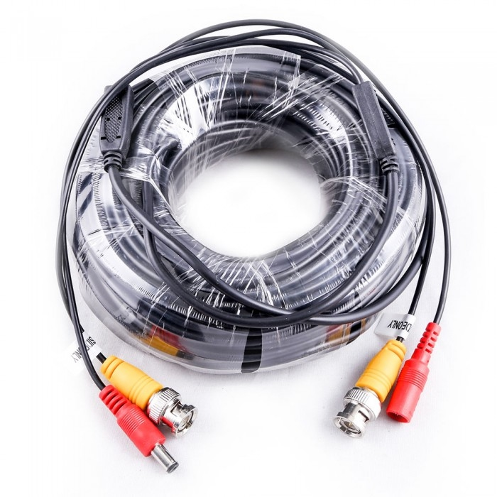 18M DC & VIDEO KABEL - voor CCT,DVR