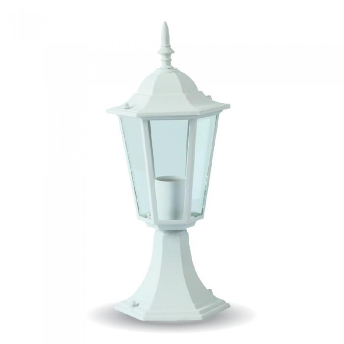 30cm STAANDE LAMP VOOR BUITEN- WIT&ZWART- E27