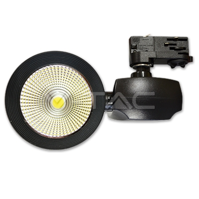 40W LED Euro Track Light COB 5000K