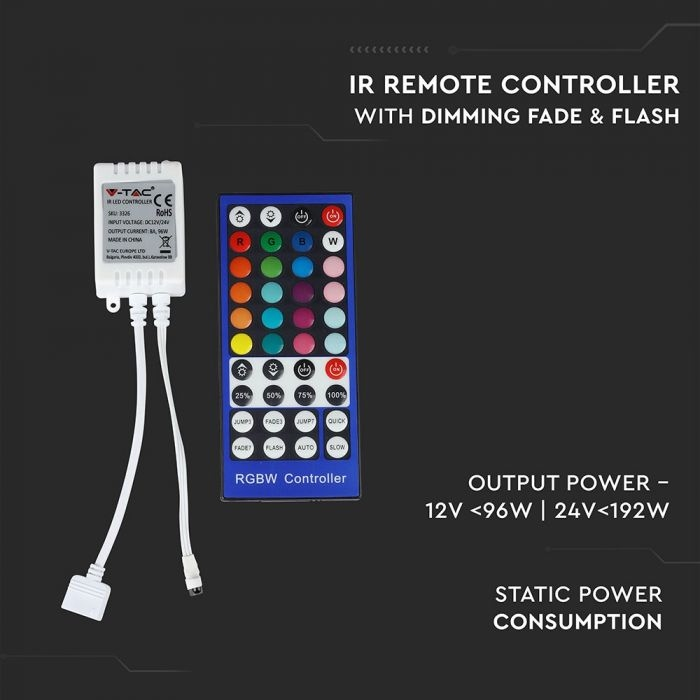 5050 60 RGB+W IR LED CONTROLER