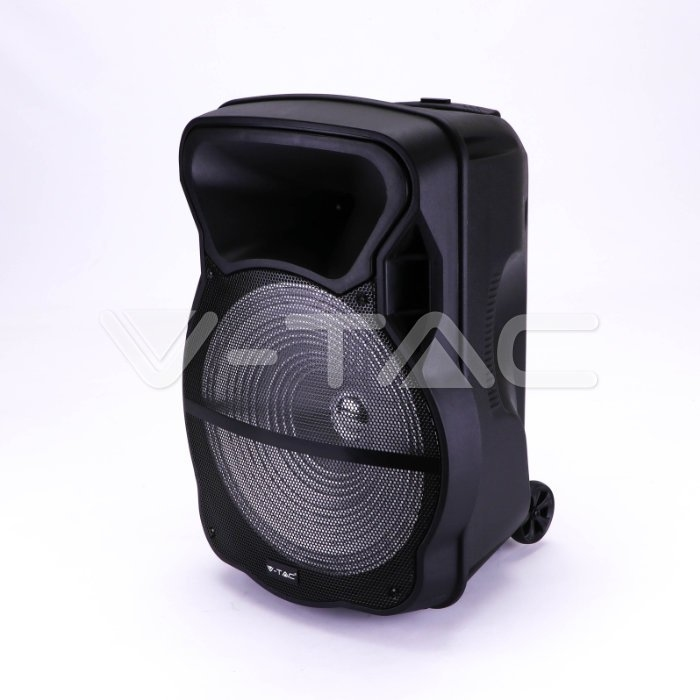 50W ALL-IN-ONE OPLAADBARE SPEAKER-1x draadloos+1 kabel MIC
