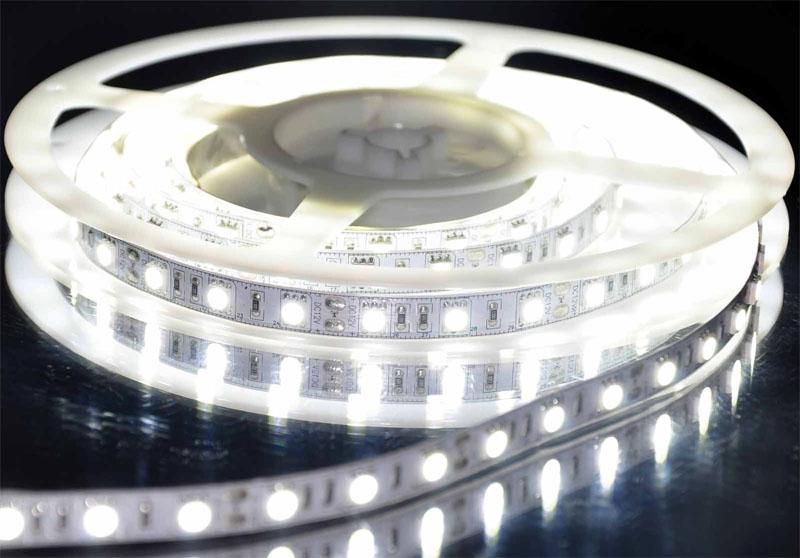 60 SMD5050 LEDS PER METER 24V- 4000K IP20