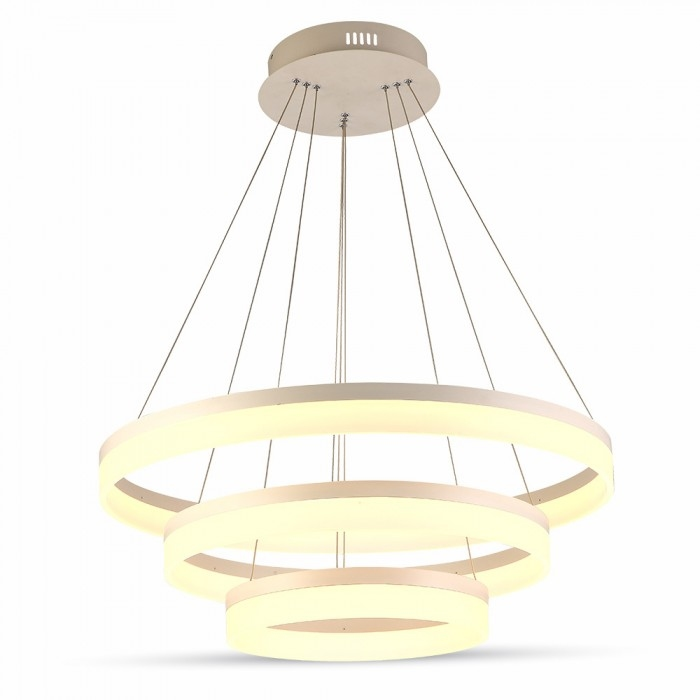 80W Hanglamp modern kleur warm wit -3000K