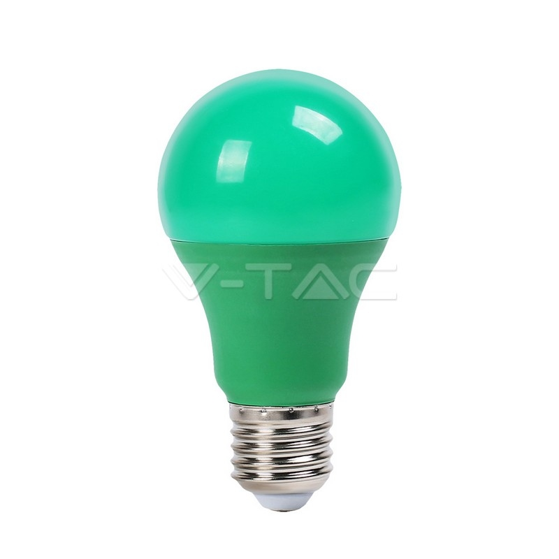 9W LED BULB Groen - 10 stuk pack E27