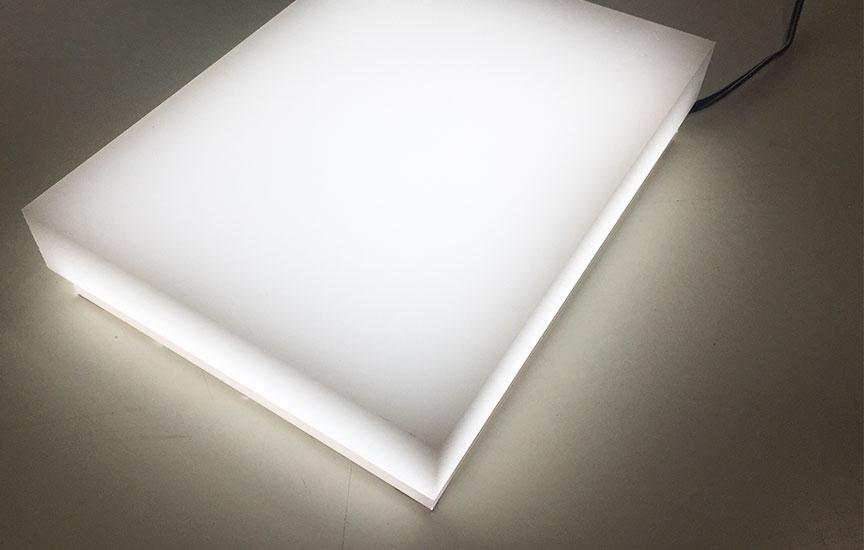 Gegoten acrylaat lichtdiffusers - 3mm dikte