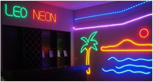 NEON FLEX GEEL 24V IP67