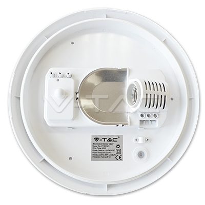 Plafond lamp -12W  met microwave sensor PROMO KASSA KORTING