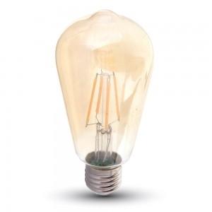 RETRO Fillament LED 4W E27 ST64