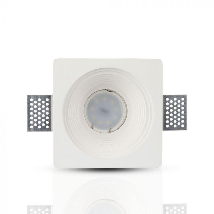 Trimless Inbouwspot GIPS vierkant - RIPPLE Ø120x120x60mm