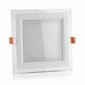 12W LED inbouw Glas - vierkant