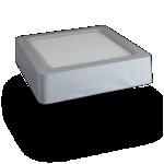 LED paneel opbouw- Vierkant 8W