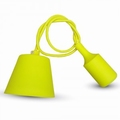 Silicone Armatuur hanglamp Geel