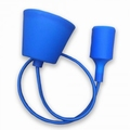 Silicone Armatuur hanglamp Blauw