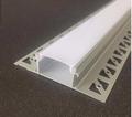 LED GIPSPLAAT profiel - tot 11 mm / voor 1 of 2 ledstrips