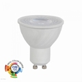 6W GU10 LED PLASTIC SPOT 2700K - Warm wit, CRI>95
