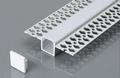 LED stucprofiel / Gips profiel - voor een led strip 12,5 mm