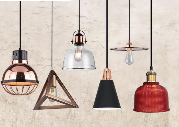 Hanglampen zonder licht bron